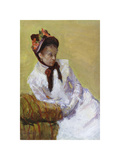 Portrait of the Artist, 1878 Premium Giclee Print by Mary Stevenson Cassatt