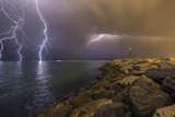 When Lightning Strikes Photographic Print by Mehdi Momenzadeh