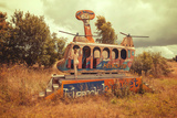 Abandoned Helicopter Photographic Print by  Abandon.Dk
