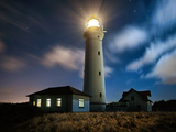 The Lighthouse Photographic Print by  Keller