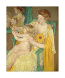 Mother and Child, c.1905 Premium Giclee Print by Mary Stevenson Cassatt