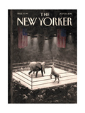 The New Yorker Cover - July 25, 2016 Regular Giclee Print by Eric Drooker