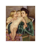The Caress, 1902 Premium Giclee Print by Mary Stevenson Cassatt
