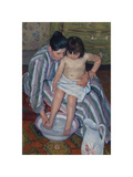 The Child's Bath, 1893 Premium Giclee Print by Mary Stevenson Cassatt