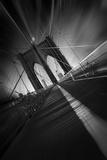 Brooklyn-broen, New York Fotografisk tryk af Sebastien Del Grosso