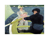 The Boating Party, 1893-1894 Premium Giclee Print by Mary Stevenson Cassatt