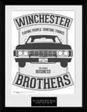 Supernatural Winchester Samletrykk