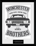 Supernatural Winchester Collector Print