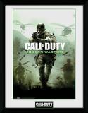Call Of Duty Modern Warfare Key Art Samletrykk