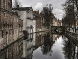 Reflections of the Past ... Fotografisk tryk af Yvette Depaepe