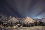 Winterevening in the Mountains Photographic Print by Ralf Eisenhut