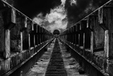 To the Train Photographic Print by Mladjan Pajkic -