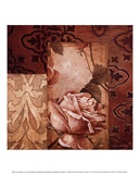 Linen Roses I Prints by Linda Thompson