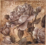 Antique Rose II Posters by Linda Thompson