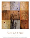 Bamboo Nine Patch Plakater af Don Li-Leger