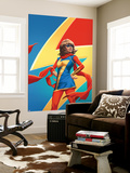 Ms. Marvel No. 5 Cover Featuring (Kamala Khan) Wall Mural by Emanuela Lupacchino