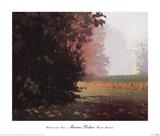 Montlake Fog Print by Marcus Bohne