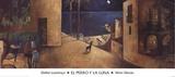 El Perro y la Luna Posters by Didier Lourenco