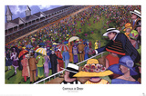 Chapeaux de Derby Print by Jeff Williams