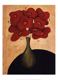 Bouquet Rouge Posters by Jocelyne Anderson-Tapp