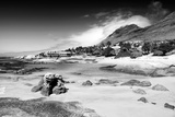 Awesome South Africa Collection B&W - Cape Town Beach Photographic Print by Philippe Hugonnard