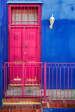 Awesome South Africa Collection - Colors Gateway Pink & Royal Blue Photographic Print by Philippe Hugonnard