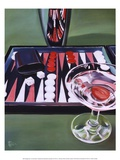 Backgammon Print by Paul Kenton