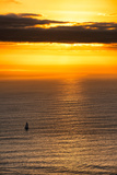 Awesome South Africa Collection - Sea Tranquility at Sunset Photographic Print by Philippe Hugonnard