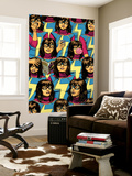 Ms. Marvel No. 5 Cover Featuring Ms. Marvel (Kamala Khan) Wall Mural by David Lopez