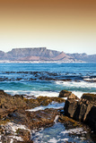 Awesome South Africa Collection - Table Mountain - Cape Town II Fotografisk tryk af Philippe Hugonnard