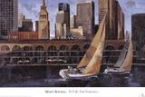 Mart Bofarull - Port de San Francisco Print by Marti Bofarull