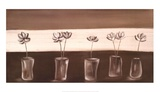 Fleurs Dans Un Vase Posters by Rosie Mclean