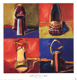 Heels and Toes Together Prints by Brenda K. Bredvik