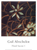 Floral Square I Art by Gail Altschuler