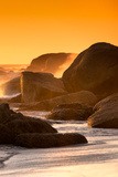 Awesome South Africa Collection - Sunset on Sea Stacks II Photographic Print by Philippe Hugonnard