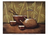 Bamboo Tea Room II Kunstdrucke von Krista Sewell
