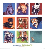 Big Dawgs Art by Jody Whitsell
