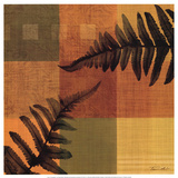Fern Blocks I Print by Tandi Venter