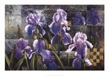 Iris Garden Prints by Fangyu Meng
