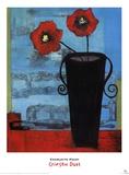Crimson Duet Print by Charlotte Foust