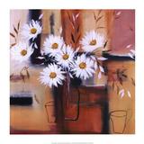 Daisy Impressions II Prints by Natasha Barnes