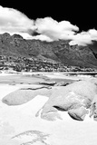 Awesome South Africa Collection B&W - The Twelve Apostles - Camps Bay I Photographic Print by Philippe Hugonnard