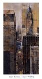 Chrysler Building Prints by Marti Bofarull