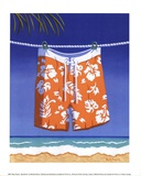 Beach Bound - Boardshorts Prints by Michele Killman