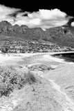 Awesome South Africa Collection B&W - The Twelve Apostles - Camps Bay III Photographic Print by Philippe Hugonnard