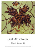Floral Square III Prints by Gail Altschuler