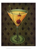 Martini Royale - Diamonds Print by Will Rafuse