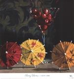 Cherry Martini Prints by Cathy Lamb