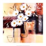 Daisy Impressions I Posters by Natasha Barnes