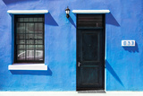 "Awesome South Africa Collection - Colorful Houses ""Sixty Three"" Skyblue Photographic Print by Philippe Hugonnard"